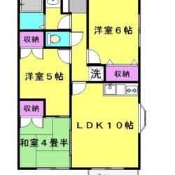 ペット可の3LDKアパート